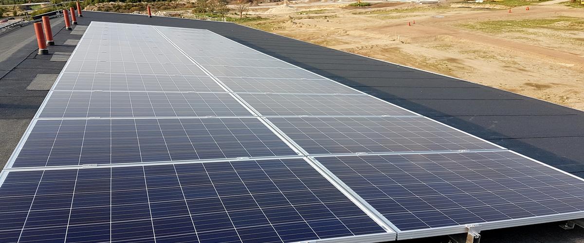 Montering av Solpaneler på tak - Skedala El Halmstad